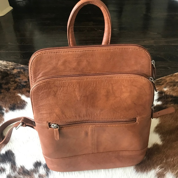 new season more photos special selection of Ili Leather Backpack